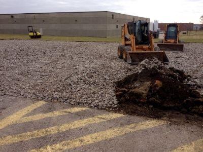 Concrete Lot Construction