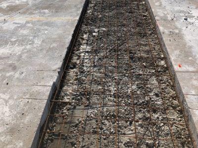 Concrete Lot Under Construction