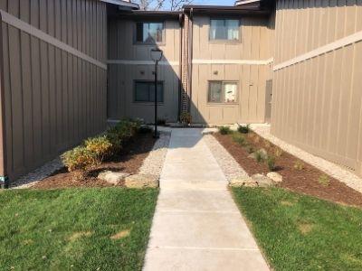 Long Concrete Walkway Redone