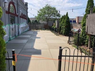 New Concrete Courtyard