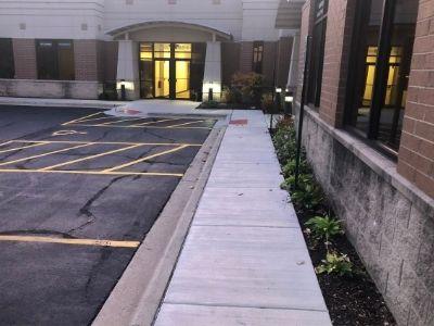 New Concrete Sidewalk